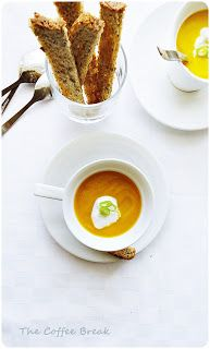 The Coffee Break: Curried Carrot Soup
