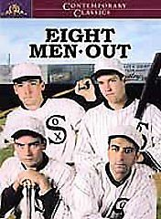 BUY IT NOW $2.99! Eight Men Out DVD MOVIE Baseball. Chicago White Sox.  World Series. Scandal. Charlie Sheen & John Cusack  xyzxyz