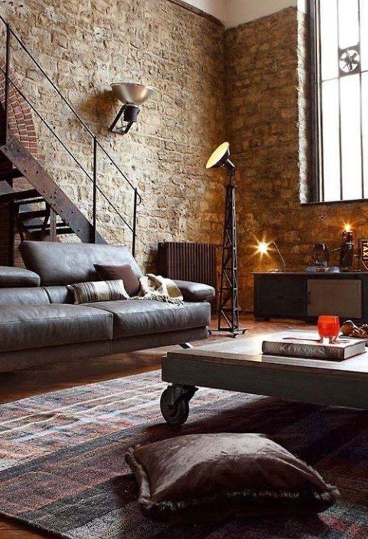 Interiors   Vintage wohnzimmer, Dekor, Rustikale ...