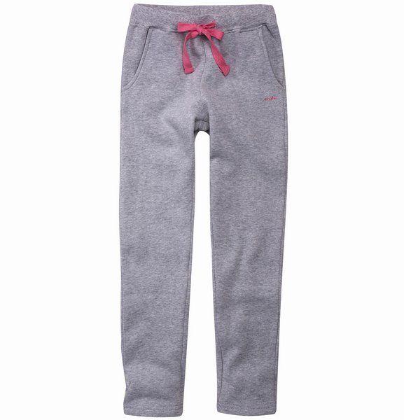 Melanżowe spodnie dresowe dla dziewczynki