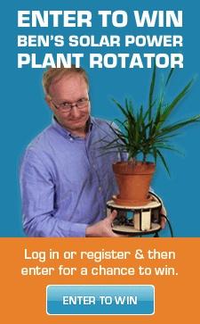 Win Ben Heck's solar power plant rotator! #benheck