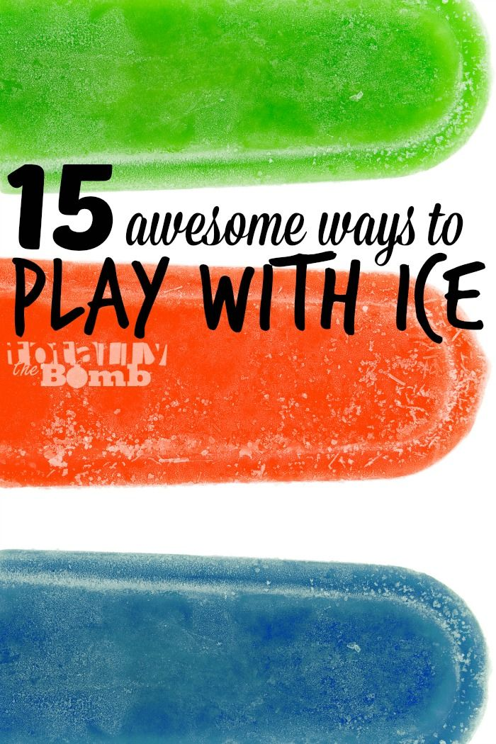 15 Awesome Ice Activities
