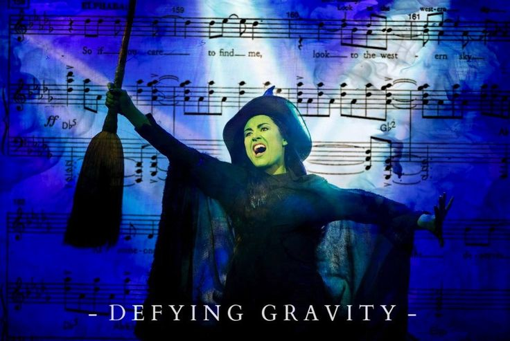 Alison Luff is Elphaba. Wicked. Defying Gravity. Defying Gravity lyrics.