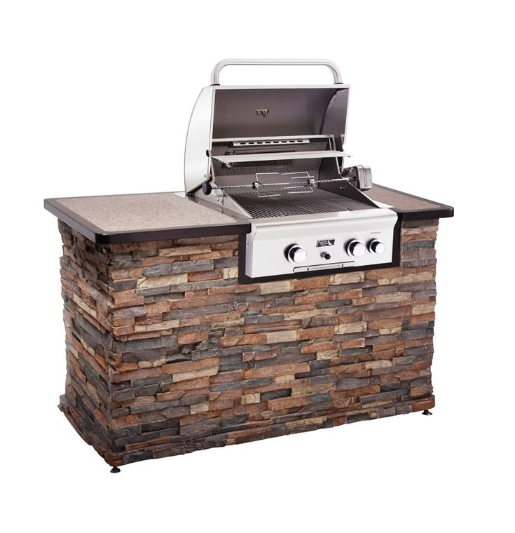 Built in grill home is where the heart is pinterest for Gas grill tops outdoor kitchen