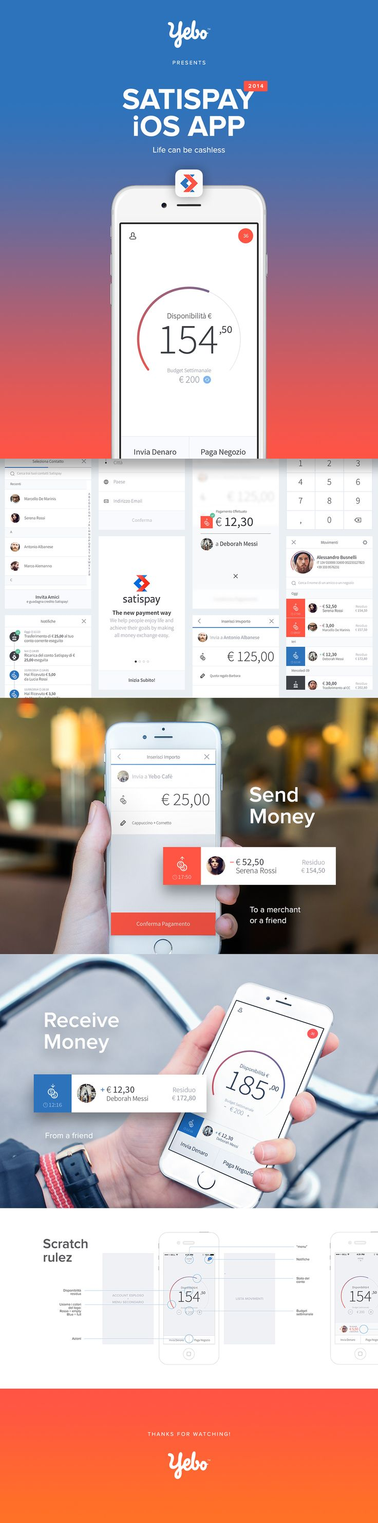 Satispay iOS App on Behance
