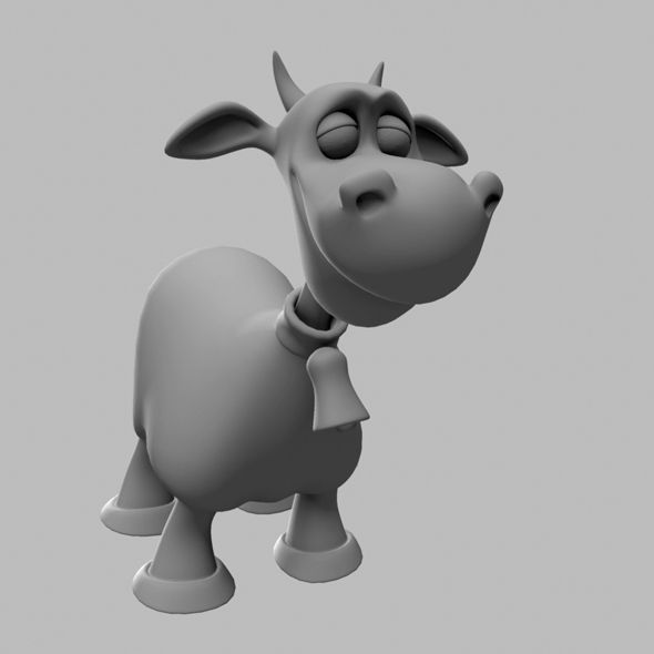 132 best 1043d animation images on pinterest 3d animation animal cow cartoon character malvernweather Gallery