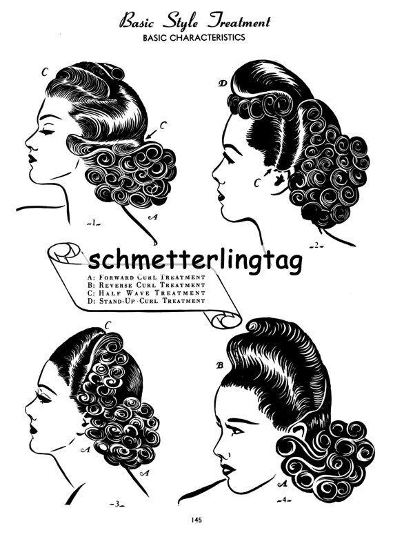 die besten 25 1940er frisuren