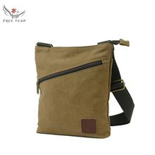 New 2016 Men's Shoulder Bag Fashion High Quality Solid Soft Canvas Casual Shoulder Messenger Handbags Leisure Bag FT3122 //Price: $US $14.46 & FREE Shipping //     #bags