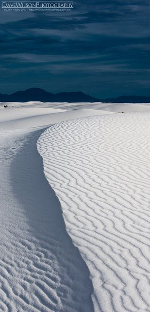 Rippled Ridge, White Sands National Park, New Mexico. To book go to www.notjusttravel.com/anglia
