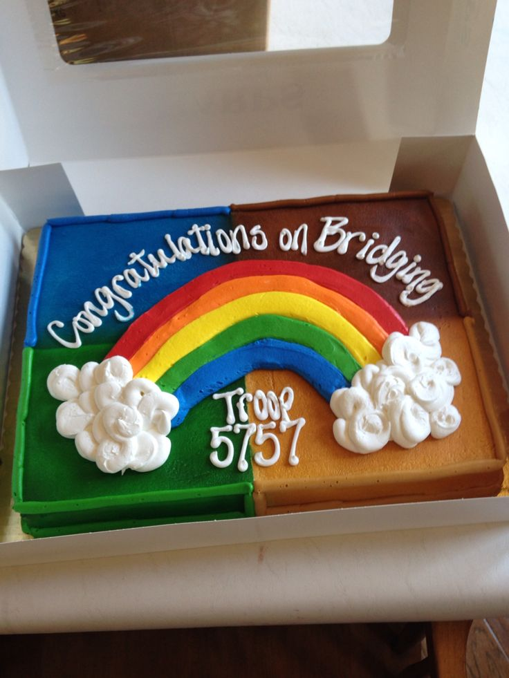 Cake Ideas For Girl Scouts : 322 best Bridging Ceremonies images on Pinterest