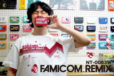 2014 NEW FAMICOM REMIX LINE-T 2014-06-12 12:07:23 THE KING OF GAMES REVIVAL THE KING OF GAMES 新作Tシャツは、WiiUで発売中のあのタイトルの新作Tシャツが登場でございます!
