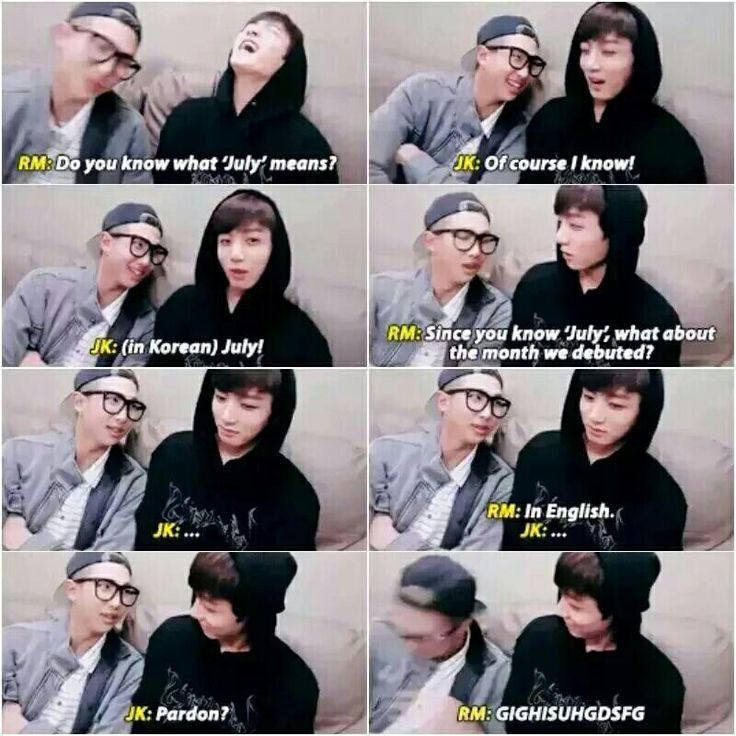 RapMonster and Jungkook English lessons with Mr. Mon