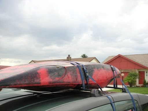Anyone who paddles a kayak or canoe must have a way to transport them to and from the water. Serious paddlers have this fact in mind whenever they make an automobile purchase. While canoe and kayak roof racks can be fitted to virtually any type of vehicle, some manufacturers make it easier than others.: Secure the Kayak Straps