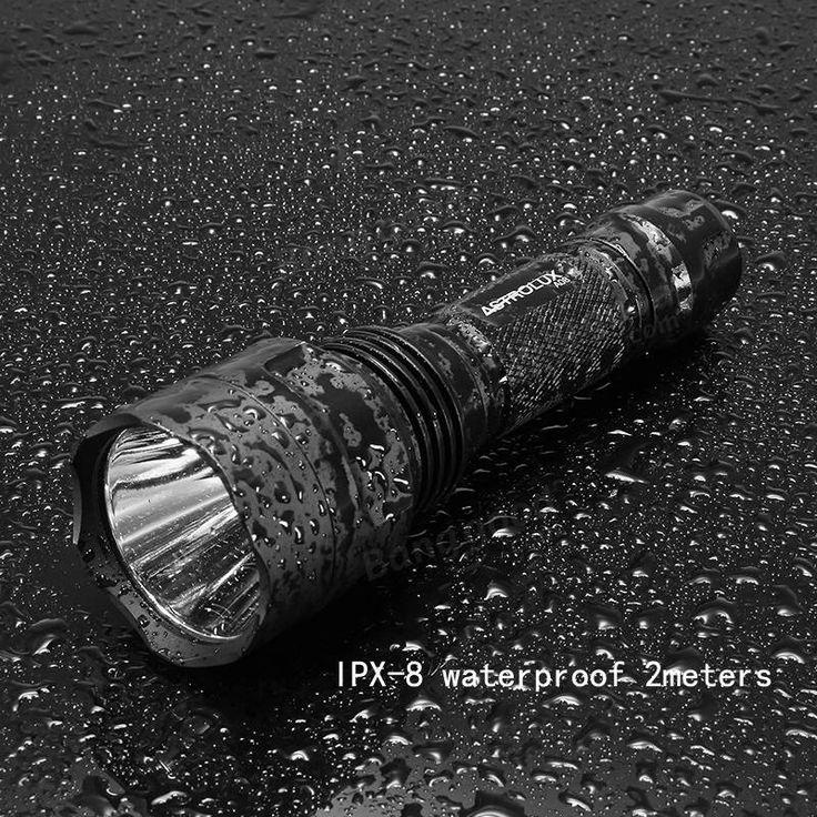 Astrolux C8 XP-L HI 1300Lumens 7/4modes A6 Driver Tactical EDC LED Flashlight 18650 Sale - Banggood.com