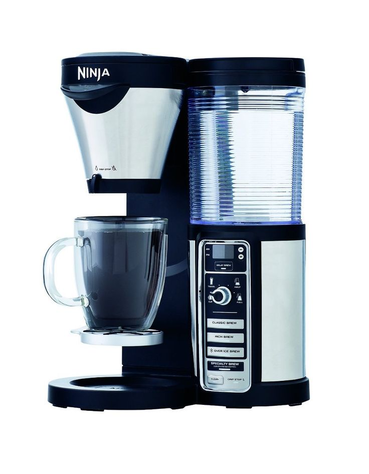 Ninja Coffee Maker, Bar Brewer Style with 4 Brew Size Options, From Single Cup to 10 Cup Stainless Steel Carafe, and 4 Brew Styles Including Hot or Iced Specialty Coffees -- Check out this great image  : Coffee Maker