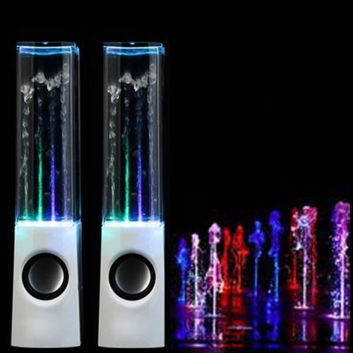 Enjoy these cool and fun filled 2 Dancing Water Speakers For Sale. Speakers…