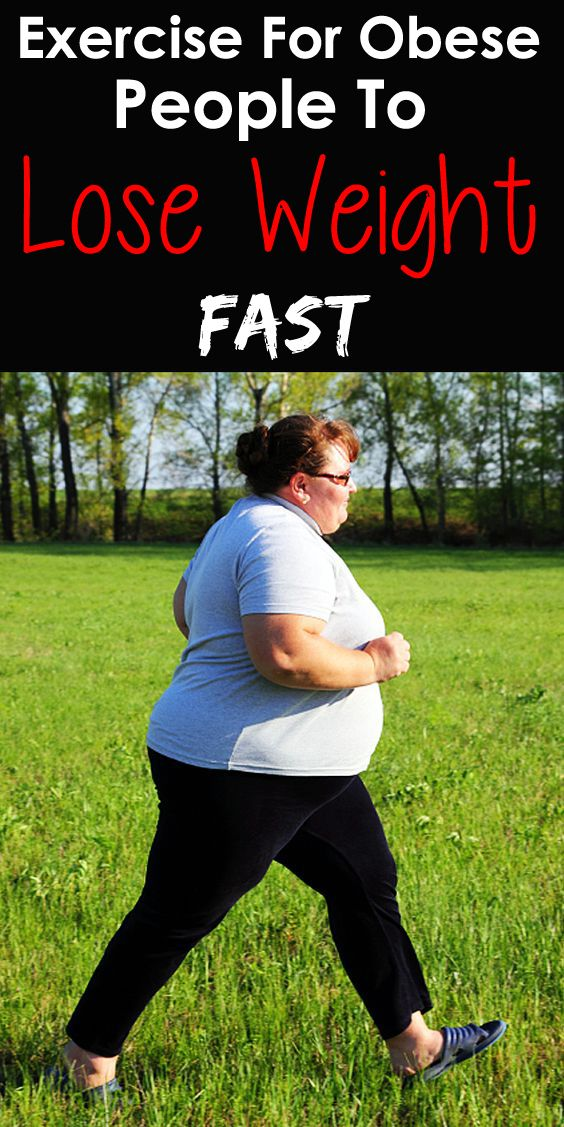 Exercise For Obese People To Lose Weight !!!