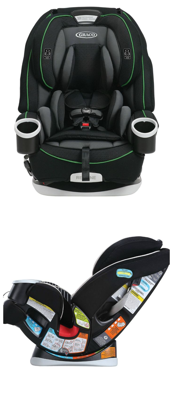 Our list of the best convertible car seats include the Graco  Graco 4Ever All‑in‑One Car Seat. Why We Love It: The Graco 4Ever All-in-1 Car Seat gives you 10 years of use. It features a Simply Safe Adjust Harness System where you can easily adjust the height of your harness and headrest in just one motion so you will never have the hassle of...Continue Reading