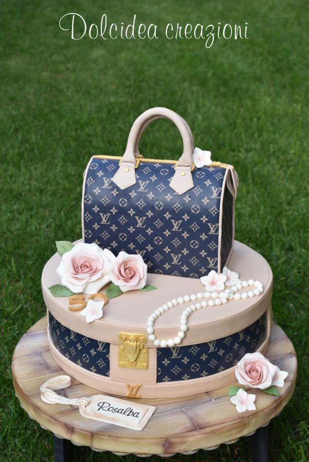 Louis Vuitton cake by Dolcidea creazioni