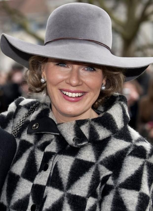 HRH Princess Mathilde of Belgium