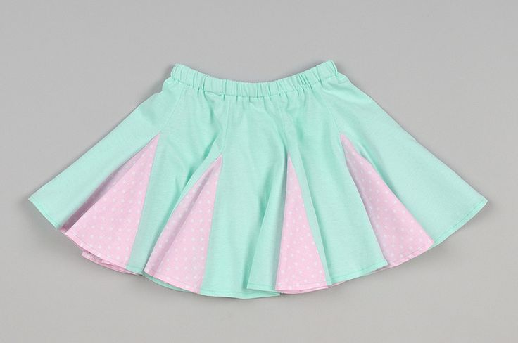 Zakręcona spódniczka 110-116 w Millu Kids na DaWanda.com
