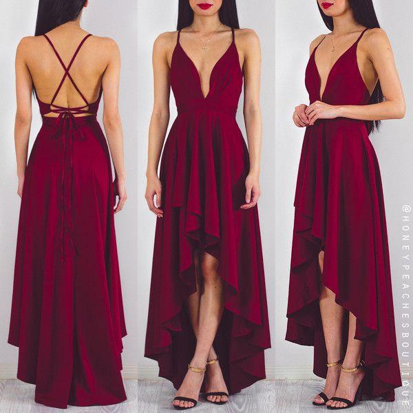 Best 25+ Maroon dress ideas on Pinterest   Maroon dresses ...