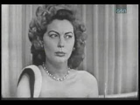 Whats my line? - Ava Gardner either in 1953 or 54'