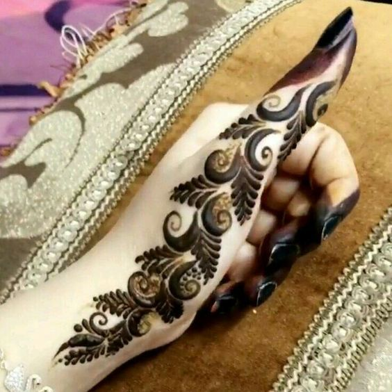 Beautifull Thumb Henna Designs 2018