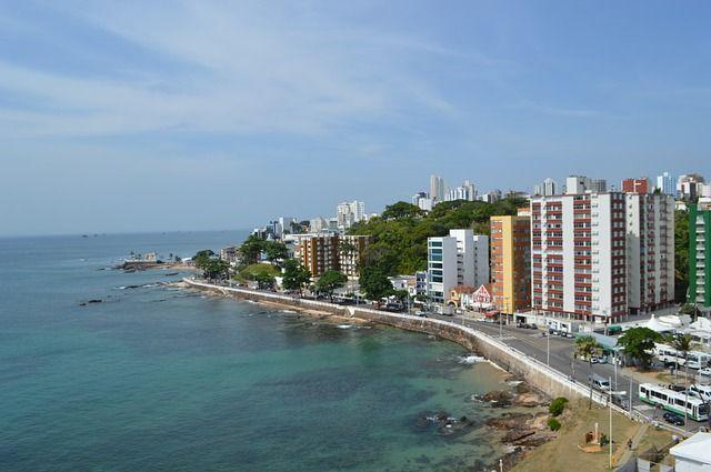 Coastline in Salvador Brazil - South America Travel Secret: Salvador Brazil