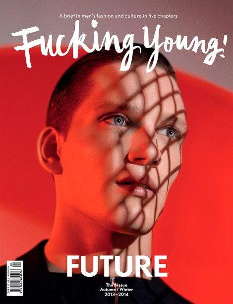 Florian van Bael by Michiel Meewis for Fucking Young! Magazine No.3