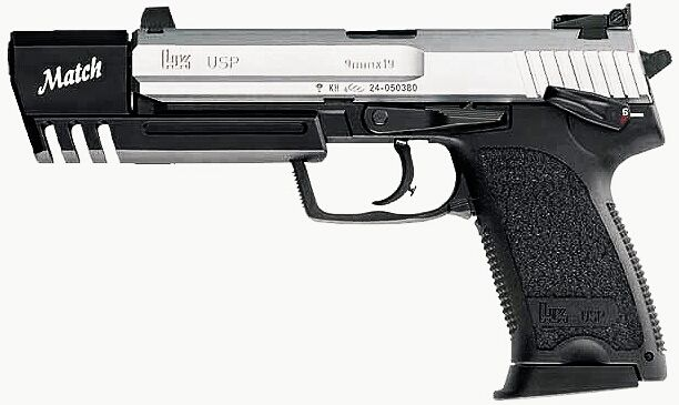 H&K USP Match - 9x19mm - Pistol