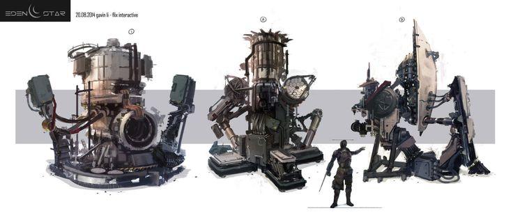ArtStation - Eden Star - Industrial Prop, Gavin Li