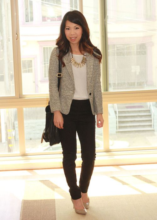 business casual women - Google Search I love the pants!