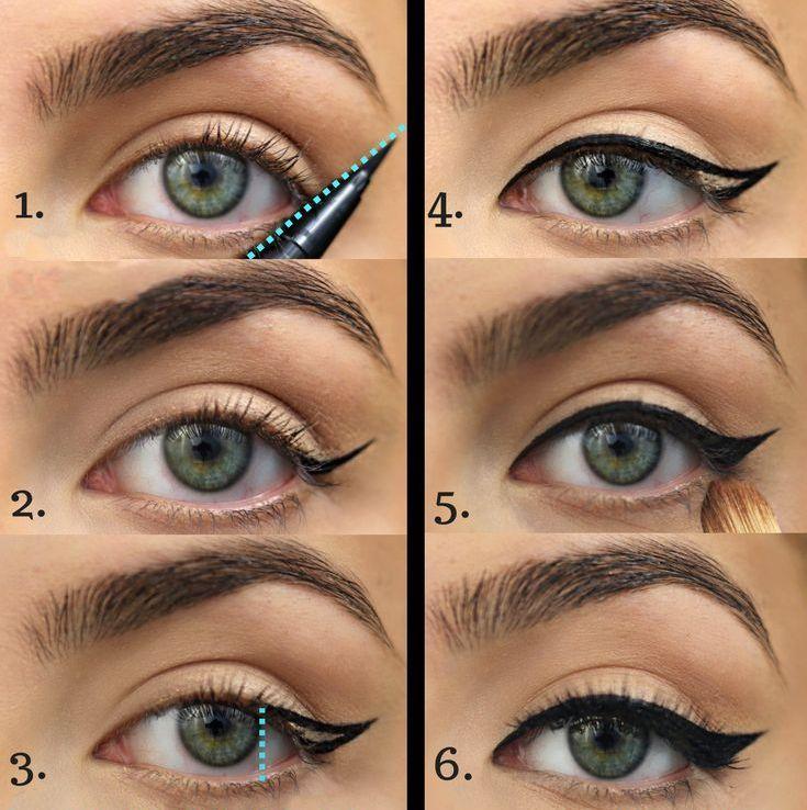 awesome Как рисовать стрелки на глазах? (50 фото) — Пошаговые инструкции
