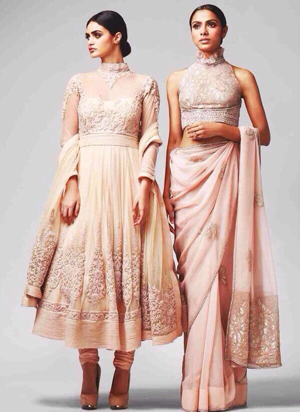 left one  is a good optional wedding outfit