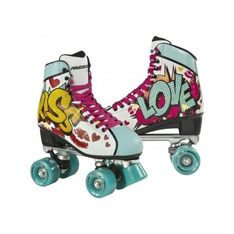 comprar patines quad, comprar patines powerslide, comprar patines pop art, comprar patines kiss