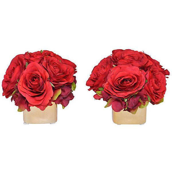 Red Home Decor Accessories: Best 25+ Red Rose Arrangements Ideas On Pinterest