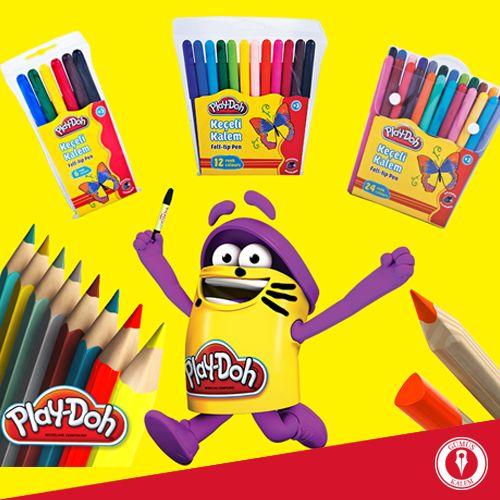 Havaların ısınmasıyla okul biraz sıkıcı mı olmaya başladı? Öyleyse Play-Doh kırtasiye malzemeleri ile dersleri renklendirme vakti çoktan gelmiş ;)  www.gumuskalem.com.tr