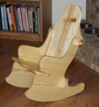 childs rocking chair without any nails or screws