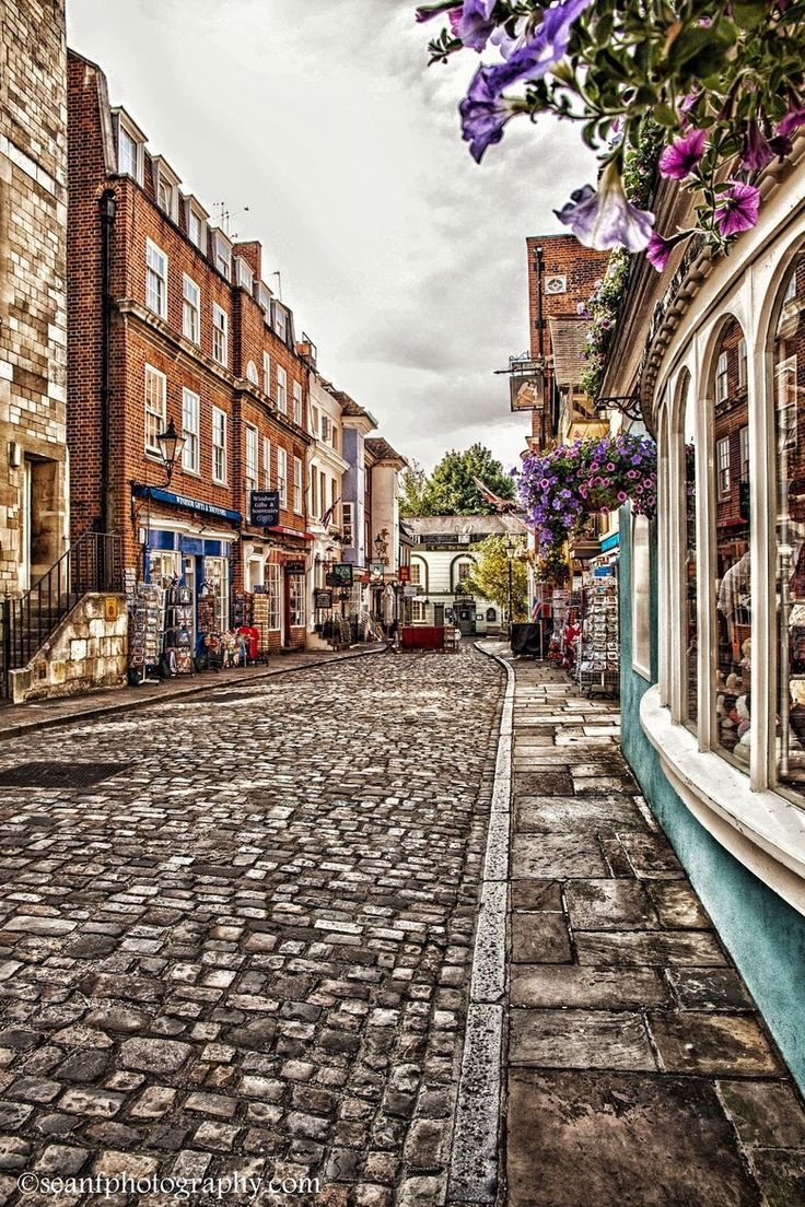 Street in Windsor, England