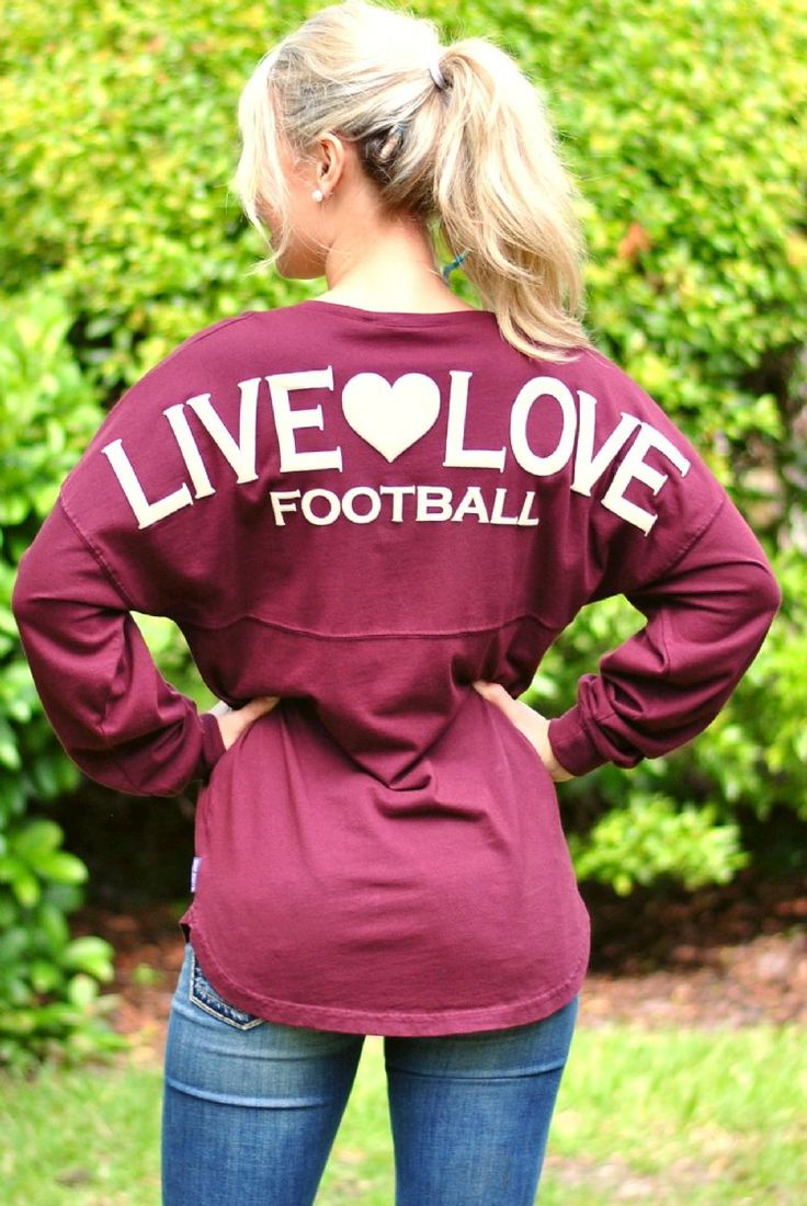 Football Spirit Jersey- Garnet/Gold