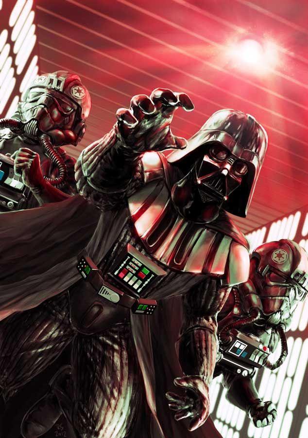 Darth Vader & Darth Maul vs. Aliens