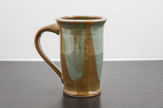 Need a special gift for Dad? This large ceramic coffee mug is the perfect gift for him!  Gift for Dad, gift for him, gift for her, pottery mug, ceramic cup, ceramic mug