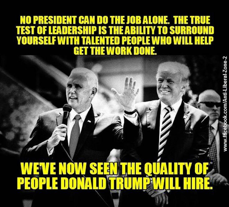 Image result for Hire Good People, Mr Trump