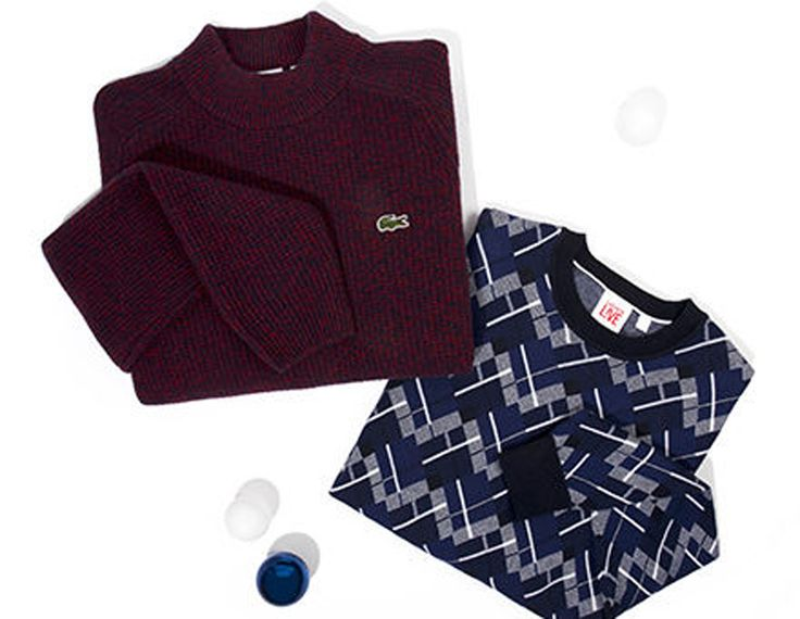 Für die kalten Tage gibt es nichts besseres als warme Sweatshirts und Pullover!  Bei Lacoste gibt es eine grosse Auswahl an schönen Pullovern in diversen Farben und Mustern zu tollen Preisen zu kaufen.  Hier geht es zum Online Shop von Lacoste: http://www.onlinemode.ch/trendige-pullover-von-lacoste-online-bestellen/