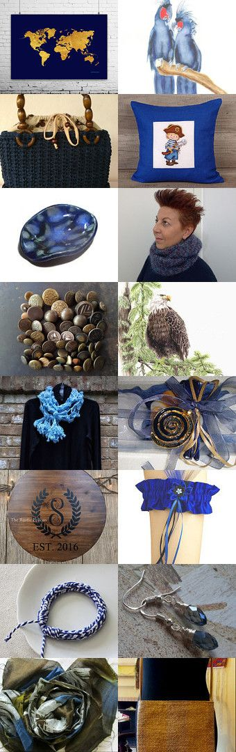 Navy blue. by Stavros Dragatakis on Etsy--Pinned+with+TreasuryPin.com