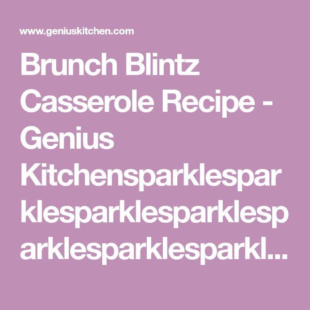 Brunch Blintz Casserole Recipe - Genius Kitchensparklesparklesparklesparklesparklesparklesparklesparkle