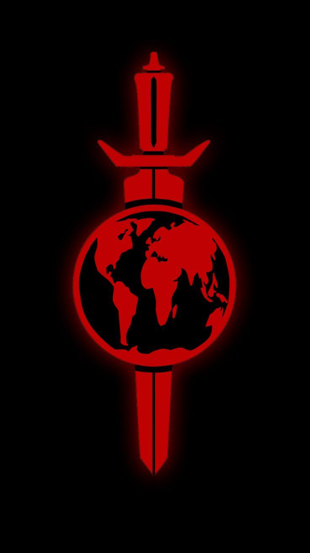 "Terran Empire insignia from Star Trek ""Mirror, Mirror"" episode"