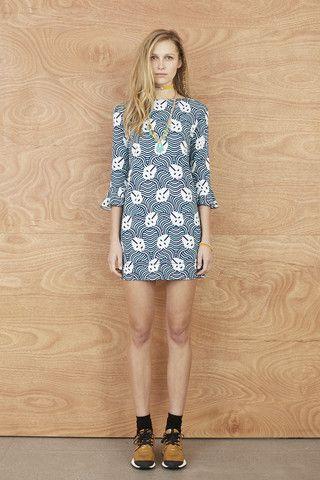 Karen Walker - Frill Cuff Dress | 47 Frocks