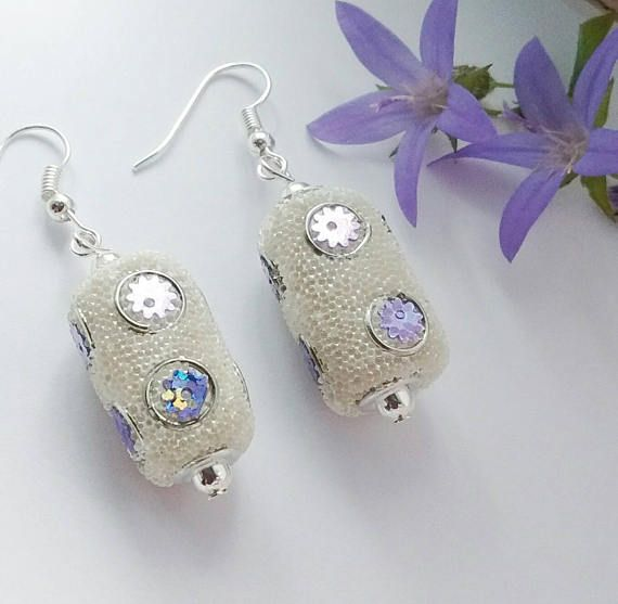 Hey, I found this really awesome Etsy listing at https://www.etsy.com/uk/listing/538352359/white-bead-earrings-wedding-earrings